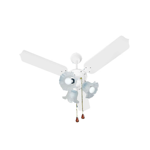 Ventilador de Teto Tron Paris Branco 3 pás 127V (110V)