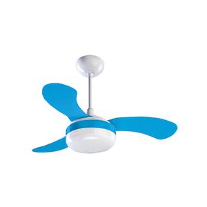 Ventilador de Teto Ventisol Petit Azul 3 pás 250V (220V)