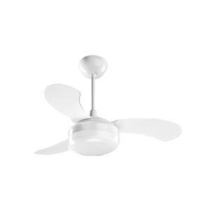 Ventilador de Teto Ventisol Petit Branco 3 pás 127V (110V)