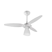 Ventilador de Teto Ventisol Wind Light Branco 3 pás 250V (220V)