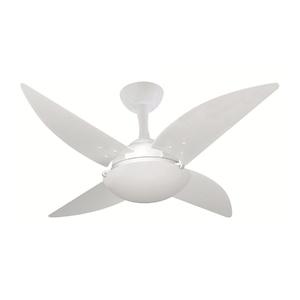 Ventilador de Teto Volare Ventax Branco 4 pás 250V (220V)