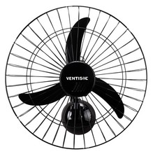 Ventilador Parede 50 cm Pt 110V New Ventisol