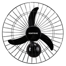 Ventilador Parede 50 cm Pt 220V New Ventisol