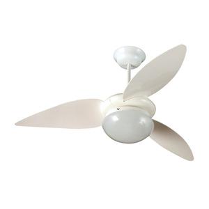 Ventilador teto Branco 3 pás 220V  Aliseu