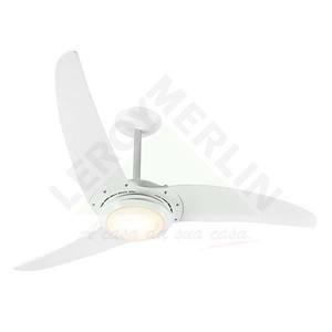 Ventilador teto Nite Prime Branco 3 pás 110V Spirit
