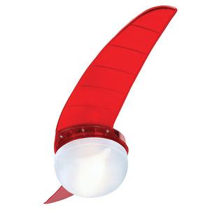 Ventilador teto Prime 202 Vermelho 2 pás 110V Spirit
