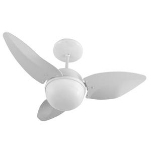 Ventilador teto Smart Branco 3 pás 110V  Aliseu