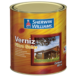 Verniz Acetinado Filtro Solar 0,9L Incolor Sherwin Williams