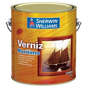 Verniz Brilhante Maritimo 3,6L Mogno Sherwin Williams