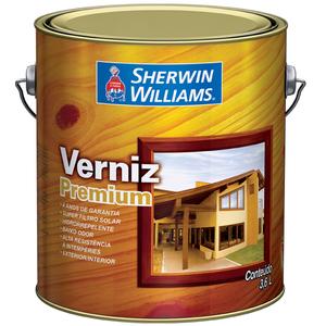 Verniz Brilhante Premium 3,6L Imbuia Sherwin Williams