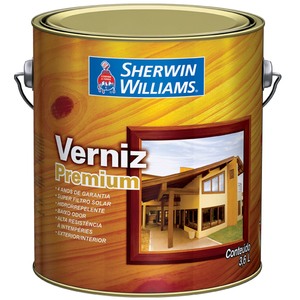 Verniz Brilhante Premium 3,6L Ipê Sherwin Williams