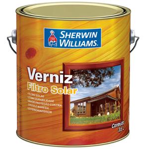 Verniz Filtro solar 3,6l incolor Sherwin Willians