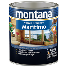 Verniz Maritimo Natural Acetinado 0,9L Montana
