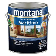 Verniz Maritimo Natural Acetinado 3,6L Montana