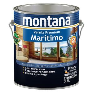 Verniz Maritimo Natural Brilhante 3,6L Montana