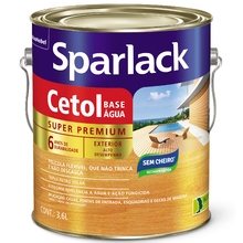 Verniz Sparlack Cetol Base Água Acetinado Imbuia 3,6L