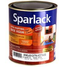 Verniz Sparlack Extra Marítimo Base D'Água Acetinado Transparente 900ml