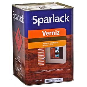 Verniz Sparlack Marítimo Brilhante Transparente 18L