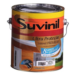 Verniz Suvinil Ultra Proteção Brilhante Mogno 3,6L