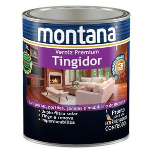 Verniz Tingidor Mogno Brilhante 0,9L Montana