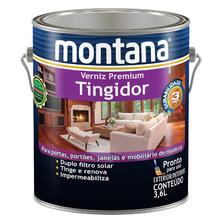 Verniz Tingidor Mogno Brilhante 3,6L Montana