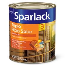 Verniz Triplo Filtro Solar Acetinado Mogno 900ml Sparlack