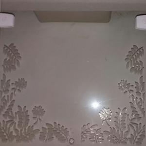 Vidro Transparente Para Portas e Janelas 100x35cm Verbena