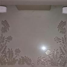 Vidro Transparente Para Portas e Janelas 110x40cm Verbena