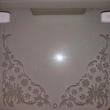 Vidro Transparente Para Portas e Janelas 70x50cm Verbena