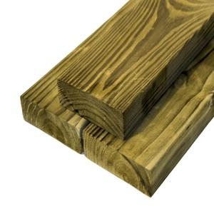 Viga Pinus Autoclavada Aparelhada 4,5cmx20cmx3,96m Madvei
