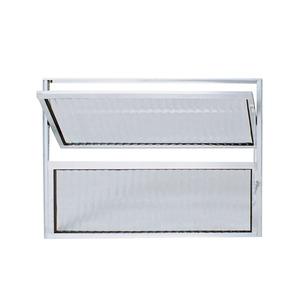 Vitrô Basculante Alumínio 0,3X0,3 Habitec