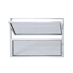 Vitrô Basculante Alumínio 0,6X0,6 Habitec