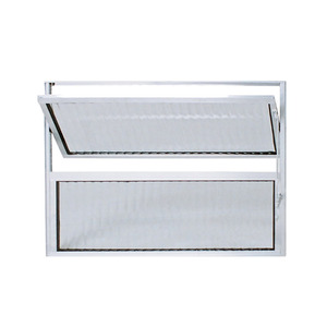 Vitrô Basculante Alumínio 0,8X0,8 Habitec